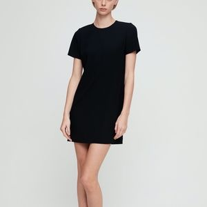 Aritizia Babaton Patrico Dress Crepe T-Shirt Dress